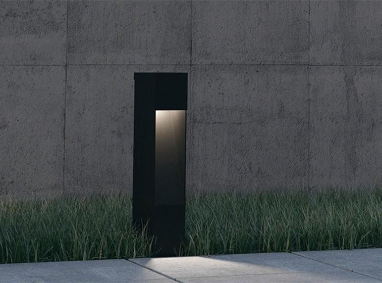 Briefkasten Design Leuchte Lampe Außenleuchte Weglampe Wegleuchte Bravios