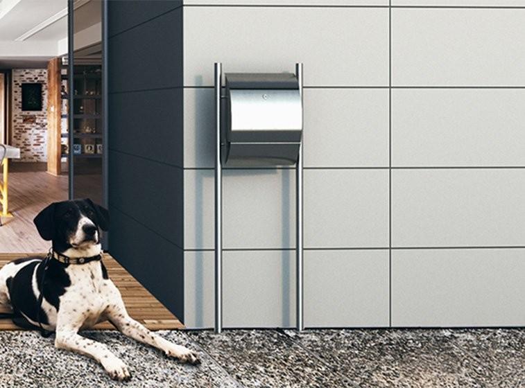 Briefkasten Design Standbriefkasten Freistehender Briefkasten Bravios